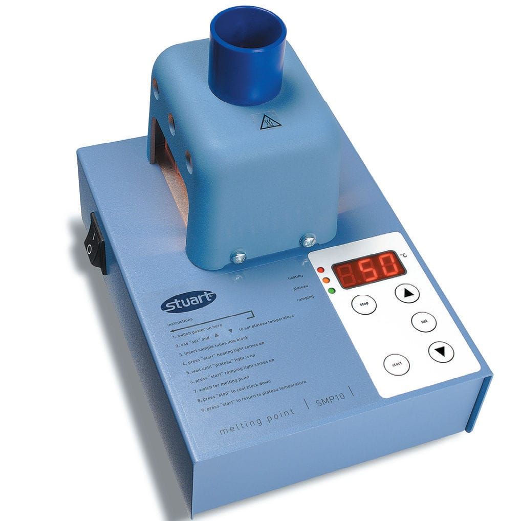 Digital Melting Point Apparatus, SMP10 and SMP20, Stuart