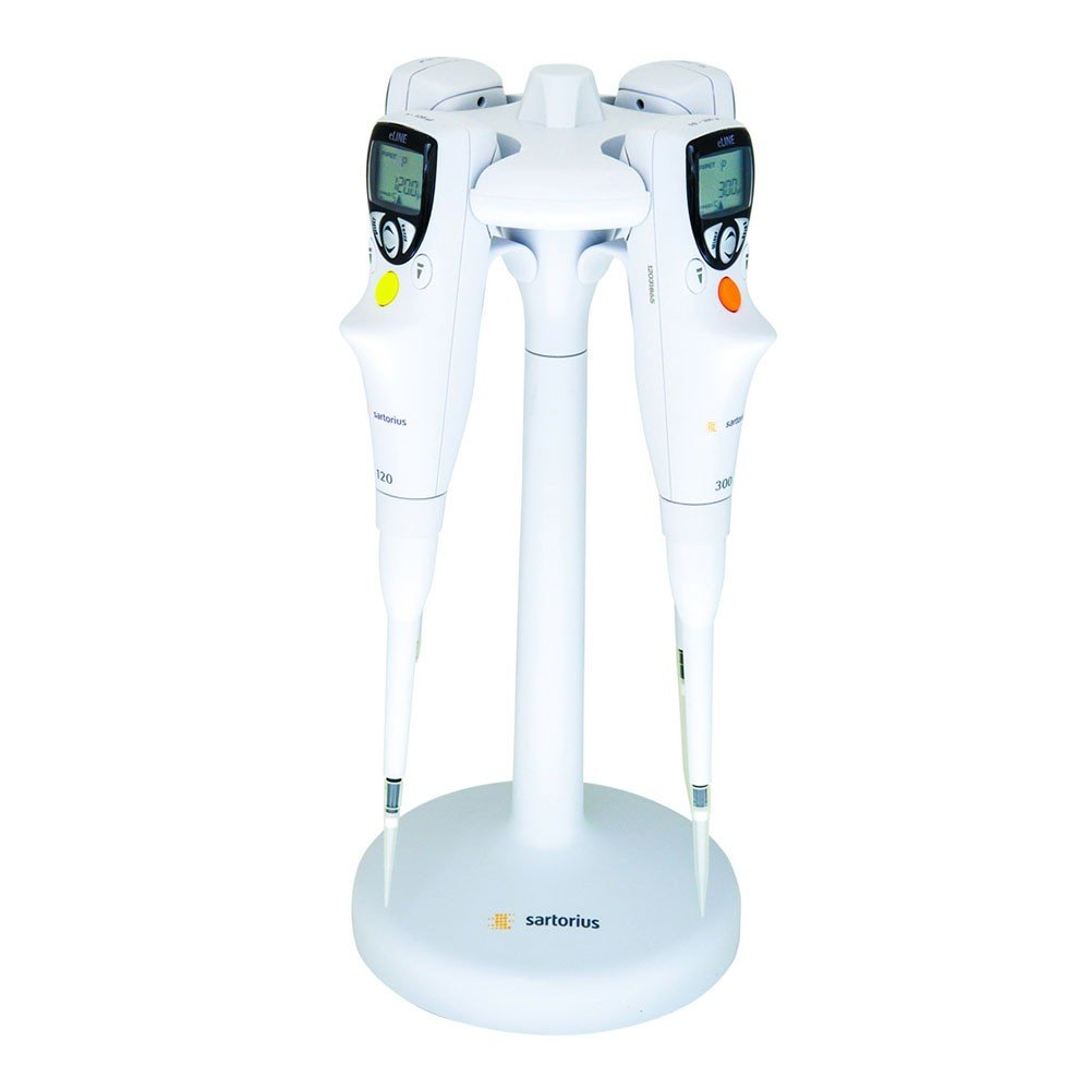 Single place charging stand for Biohit Picus or eLINE pipettors