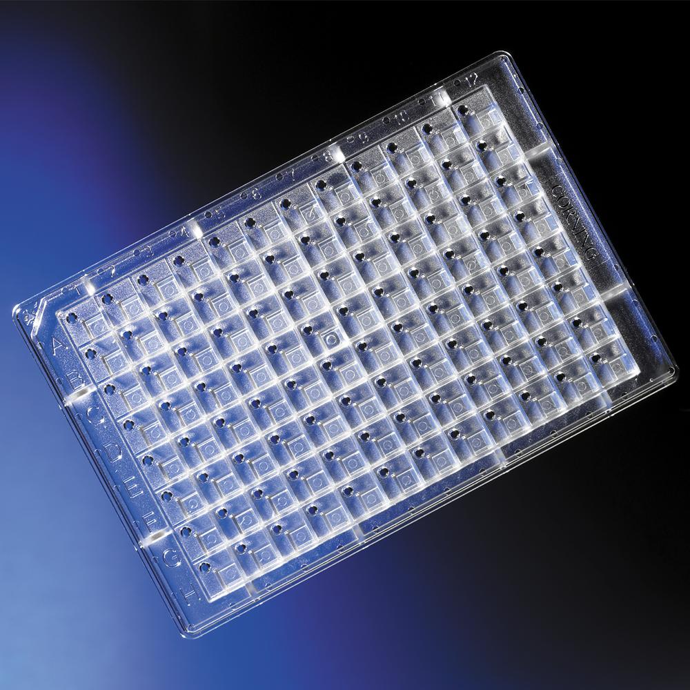 96 Well Protein crystallisation plates, round bttm, Corning