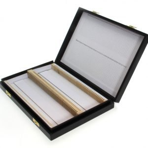 Microscope Slide Storage Boxes, Wood