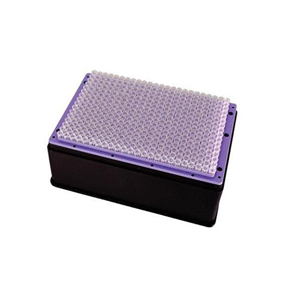 250ul Violet Tips for V-Prep, box base sealed, Sterile (5 x 960)