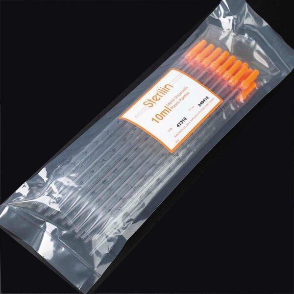 10ml Pipette, bulk wrapped (plastic wrap), Sterilin