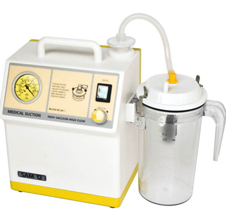 SAM12 Pump with reusable collection vessel