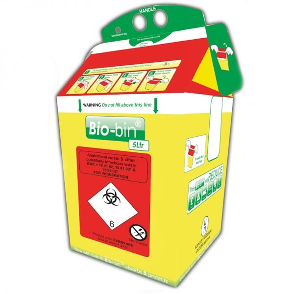 Bio-bin Infectious Waste Containers, Econix