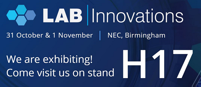 Appleton Woods are exhibiting at LAB INNOVATIONS 2018!