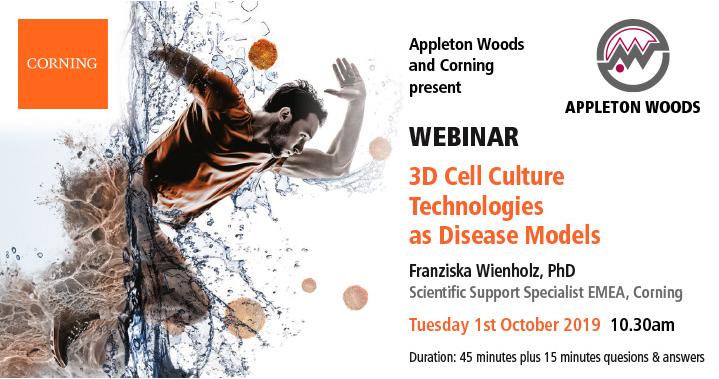 Corning Webinar – 3D Cell Culture Technologies as Disease Models