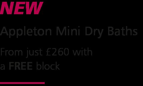 Appleton Mini Dry Bath Text