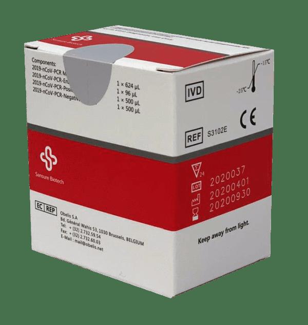Covid-19 Real-Time qPCR Diagnostic Kit, 48 Tests