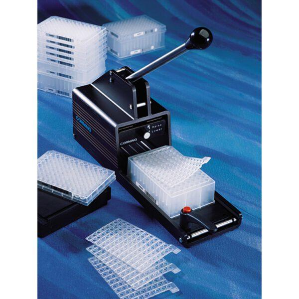 96 well sealing / storage mat applicator, Corning