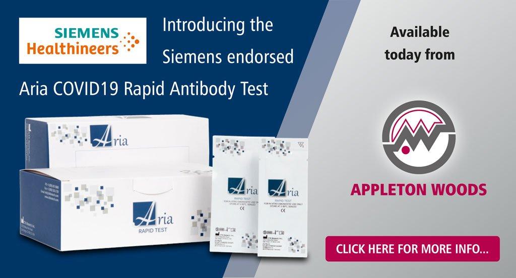 Aria Covid19 Rapid Antibody Test