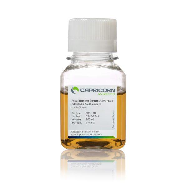 Fetal Bovine Serum Advanced, Collected in South America, 100 ml, Capricorn Scientific