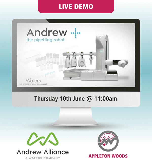 , Live Demo – Andrew Alliance