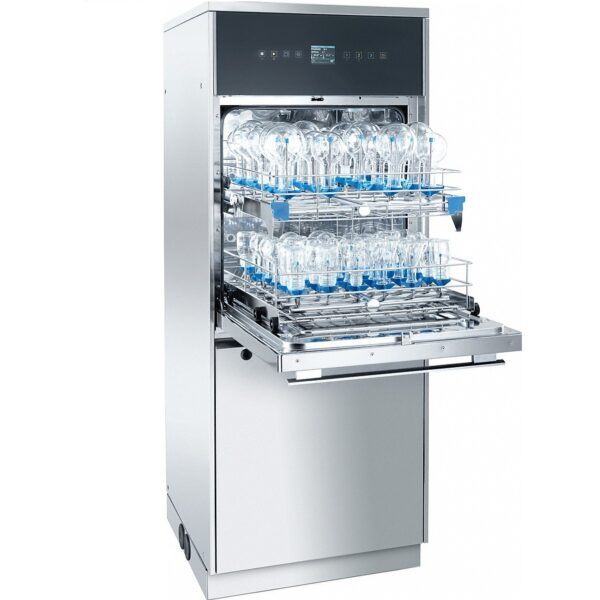 Laboratory washer with 2 wash levels in SlimLine design, steam condenser, chamber lighting, Miele