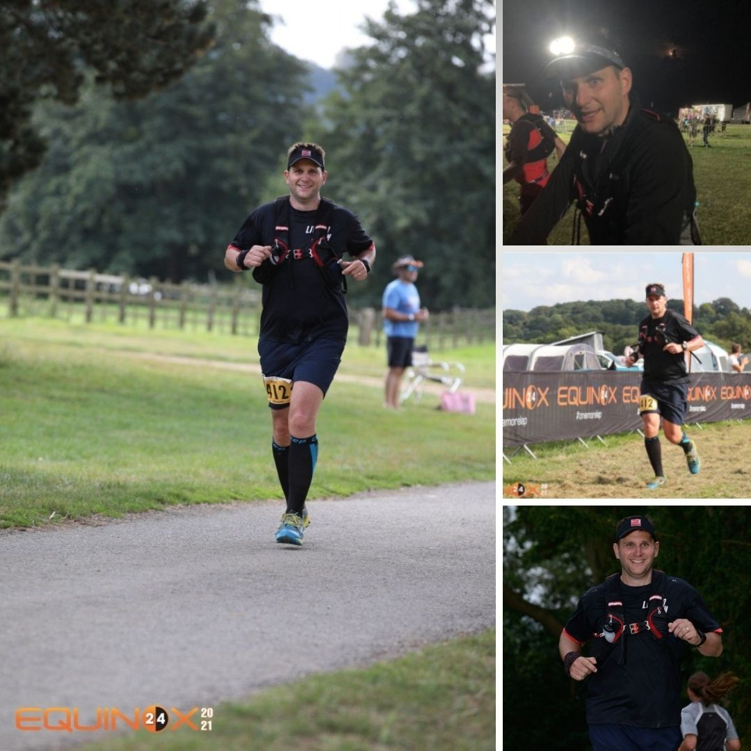 , Stewart completes 24 hour run for Edgar's gift charity!