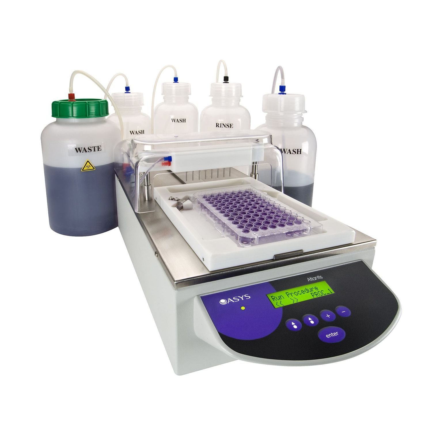 ATLANTIS 4 microplate washer with 4 liquid lines, Biochrom
