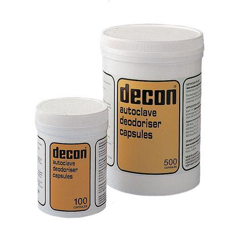 Autoclave deodoriser capsules