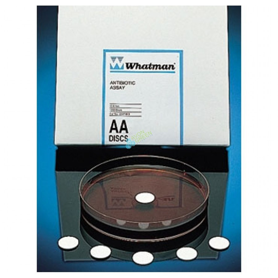 Antibiotic Assay Discs, 13mm, Whatman